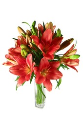 Lillies in a Vase